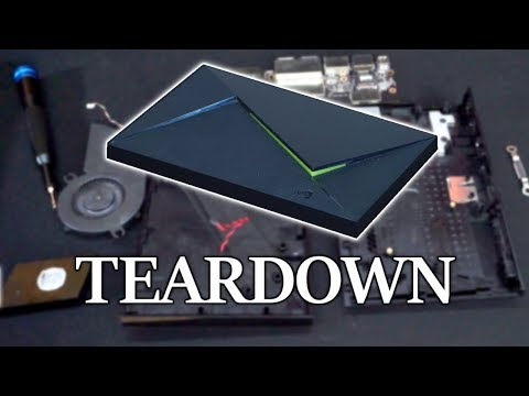 [TEARDOWN] Nvidia Shield TV (2017 16GB model)