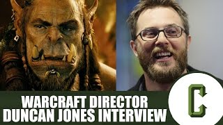 Warcraft Director Duncan Jones In Studio Interview