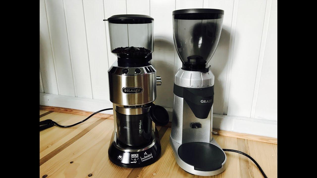 Test De Longhi Kg 520 M Und Graef Cm 800 Kaffeemuhlen Im Vergleich