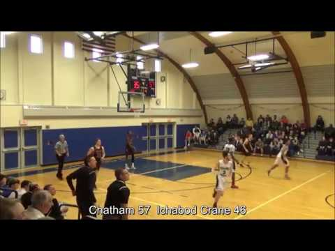 Game Highlights Boys' Varsity: Chatham 69 vs Ichabod Crane 46 (F)