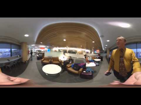 Virtual Reality Tour of the American Admirals Club in Phoenix Arizona Sky Harbor Airport.