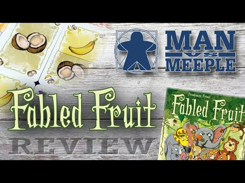 Fabled Fruit (Stronghold Games) Review by Man Vs Meeple