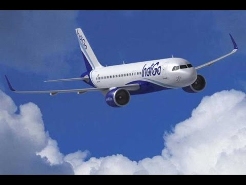Indigo flight Landing at Srinagar Airport - Awesome beauty of Kashmir Valley