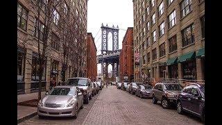 【4K】Walking around Brooklyn Bridge Park and Dumbo New York