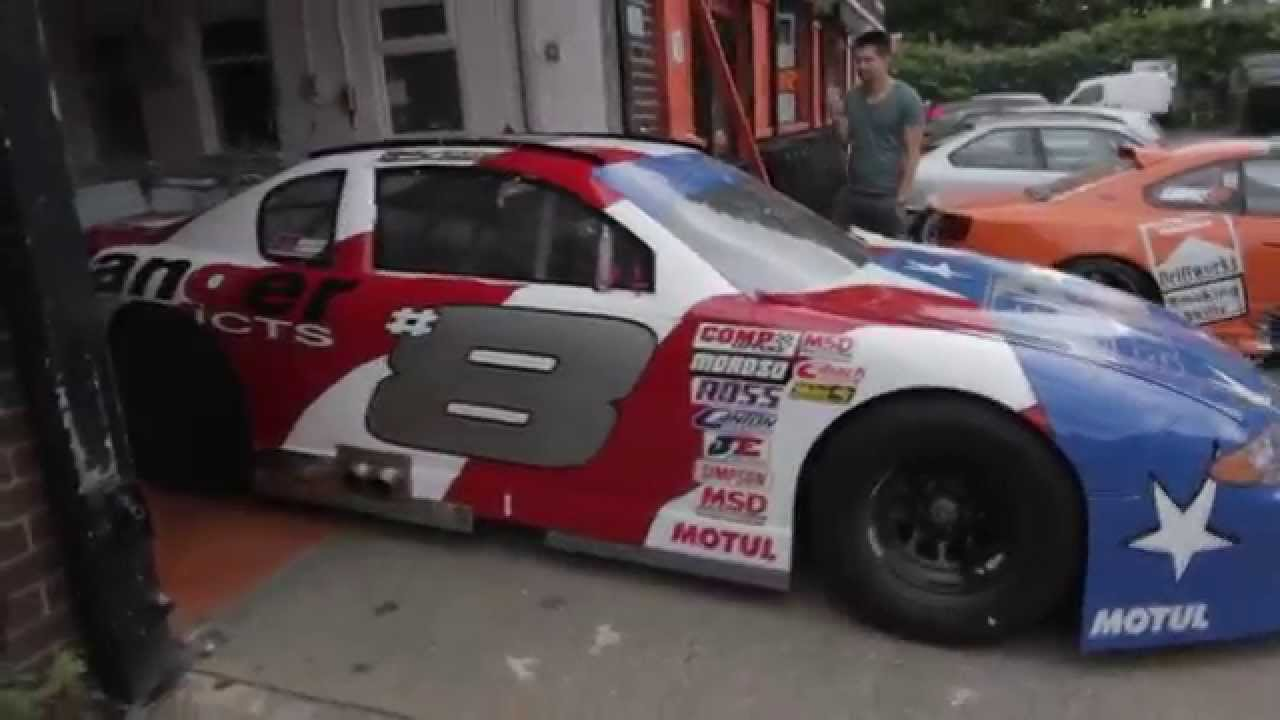 Driftworks ASCAR donor for the DW86 Project - V8 - NASCAR - YouTube