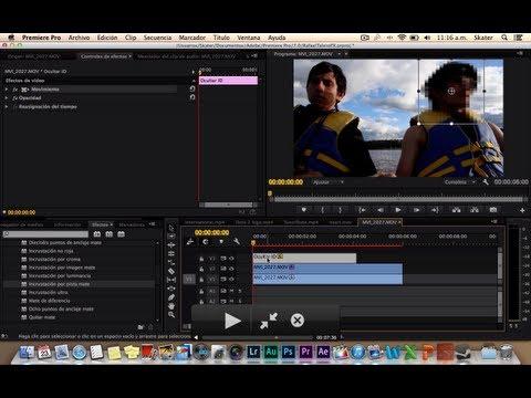Ocultar identidad en Premiere PRO con seguimiento de persona - Ideal para documentales