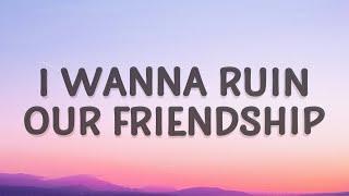 Studio Killers - I wanna ruin our friendship (Jenny) (Lyrics)