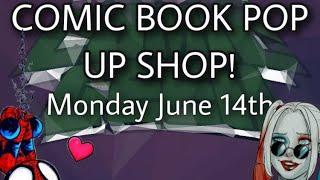 HUGE COMIC BOOK AND FUNKO POP SALE $$