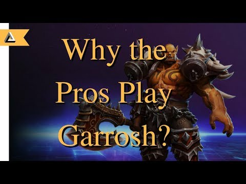 Why do the pros play Garrosh? (An Analytical look at pro play)