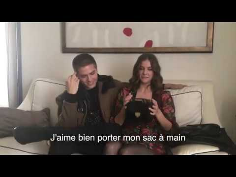 1 minute mode avec Barbara Palvin et Dylan Sprouse (Grazia)