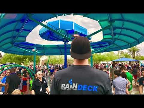 Props AV / Raindeck Splash Pad Install at Kiwanis Park Tempe Arizona