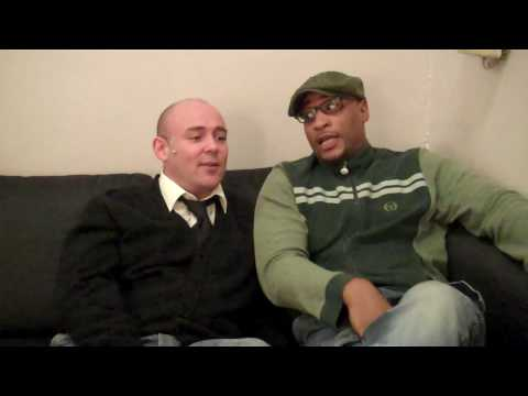 Chicago the Musical London  Backstage with Adam Stafford & Terence Maynard
