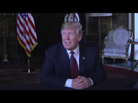 THANKSGIVING SPECIAL: President Trump Speaks With Media At Mar-a-Lago