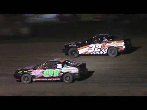 Mini Stock Heat One | McKean County Raceway | 9-30-17