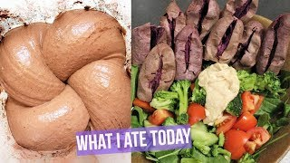 WHAT I ATE TODAY// HCLF + Calories Included