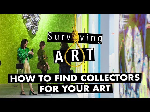 How to find buyers for your art business