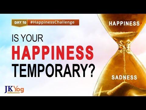 Temporary Happiness V/s True Happiness   Happiness Challenge   Day 10   Swami Mukundananda