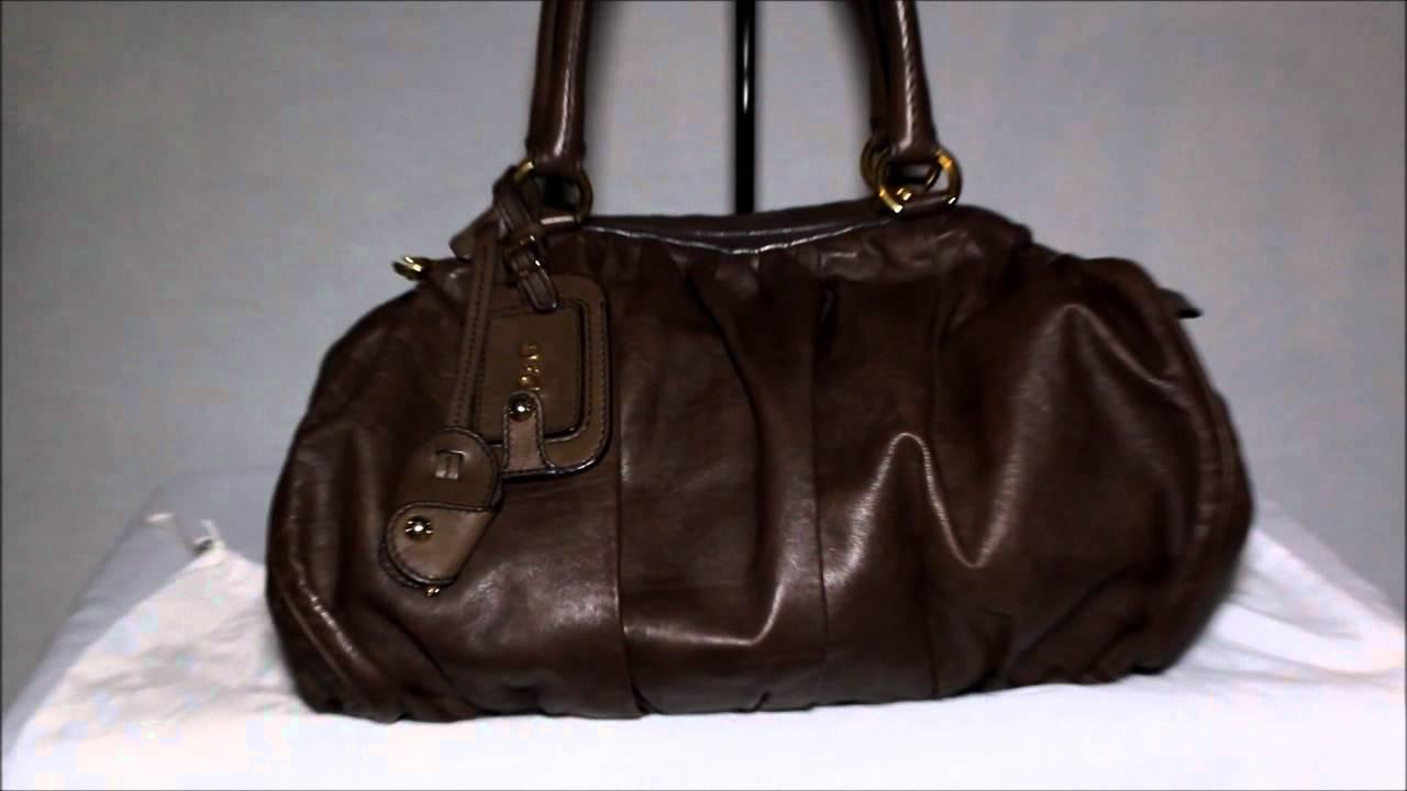 D G Dolce And Gabbana Leather Regina Bag
