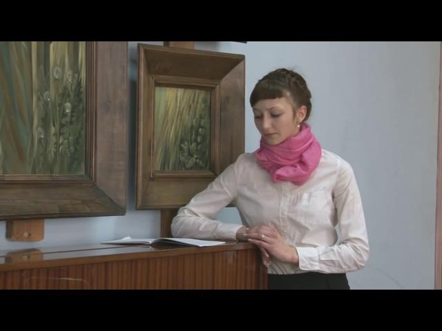 Изображение предпросмотра прочтения – ДарьяКондратьева читает произведение «Последняя любовь» Ф.И.Тютчева