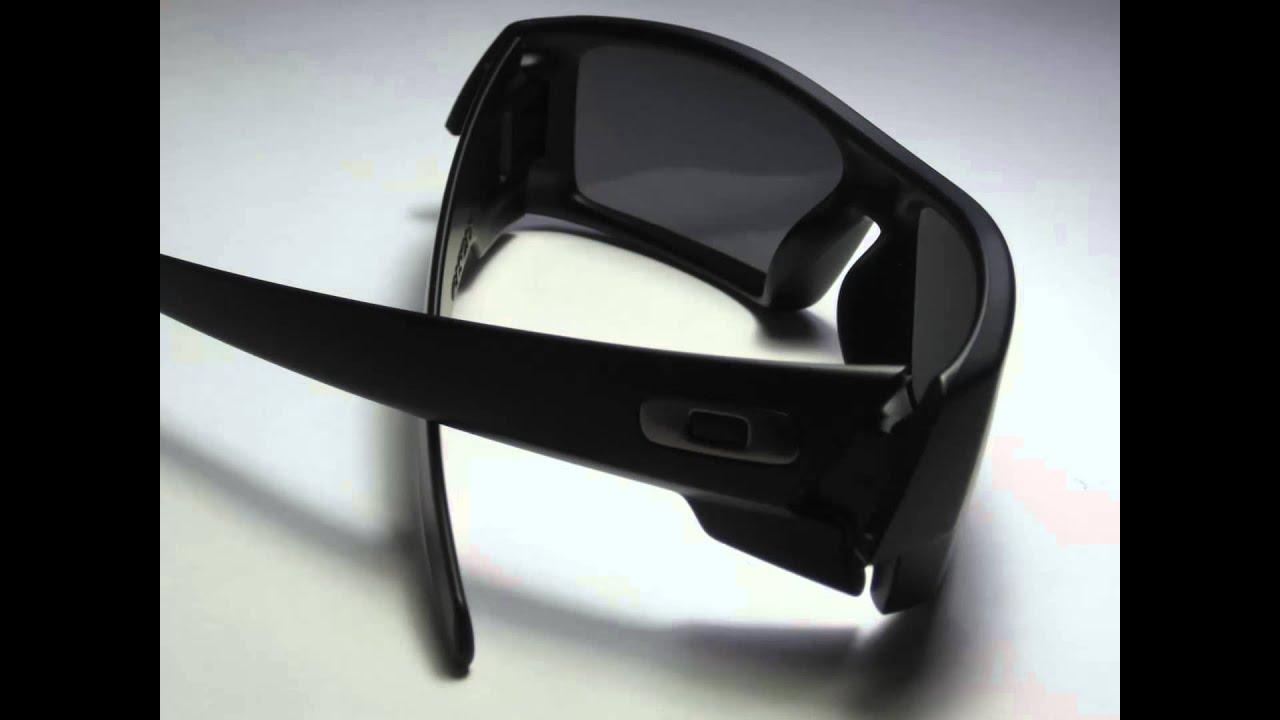 ce5124adaca2b ... greece oakley gascan sunglasses matte black frame 12 856 polarized  youtube 31216 403aa