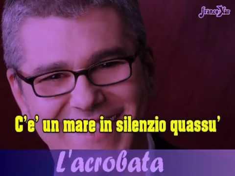 MICHELE ZARRILLO L'acrobata KARAOKE •♪♫• ilasciaperde •♪♫•