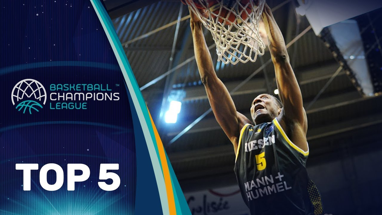 Top 5 Plays: MHP Riesen Ludwigsburg - Basketball Champions League 2017