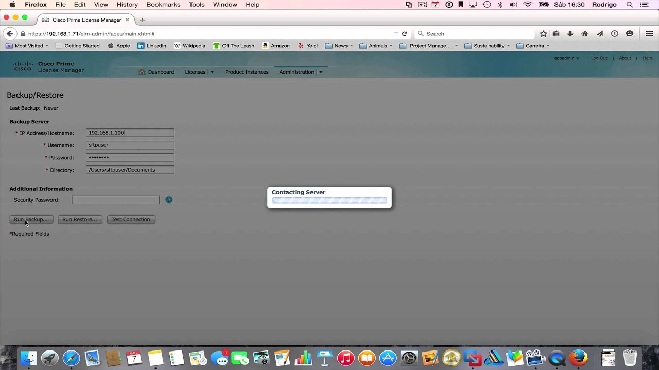 04-Cisco Prime License Manager first run and backup