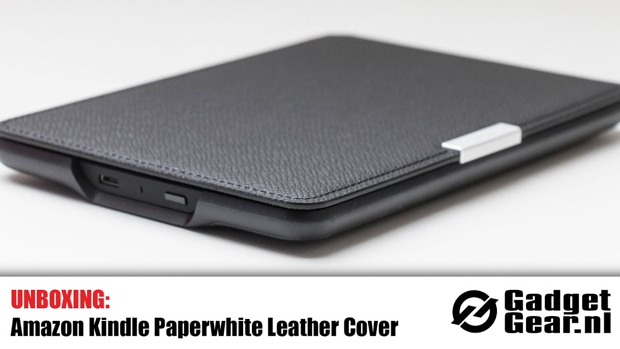 Unboxig: Amazon Kindle Paperwhite 2 Leather Cover