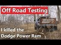 How Well Does A Stock 30 Year Old Truck Do Off Road?