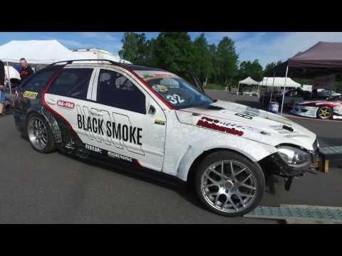 Black Smoke at Gatebil Mantorp June 2017