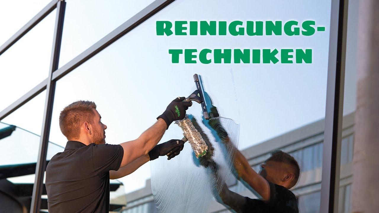 Glasreinigung reinigungstechniken unger youtube
