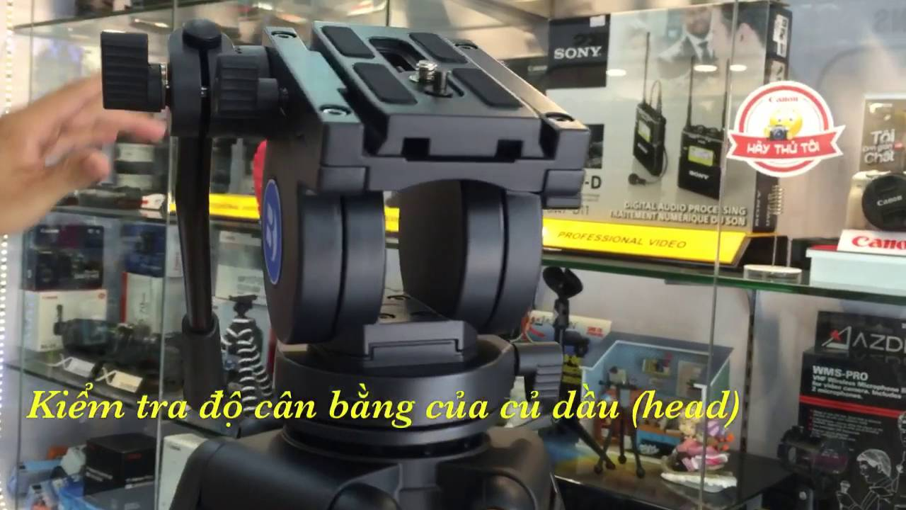 Mở hộp Tripod KH25N - 2016 - YouTube