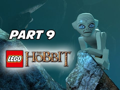LEGO: The Hobbit Walkthrough Part 9 – Gollum & Goblin Cave (PS4 1080p Gameplay)