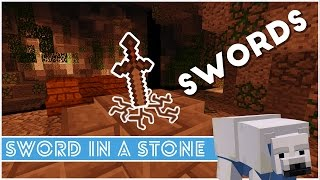 Minecraft - How To Make A Sword In A Stone