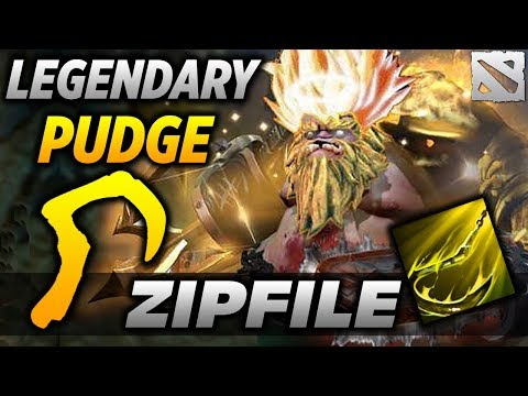 ZIP FILE LEGENDARY PUDGE PLAYER dota 2 thumbnail