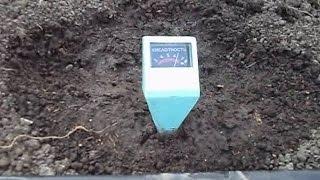 Измерение кислотности почвы. 12.10.2015