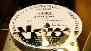 San Jose & B Flat Blues - Count Basie And His Orchestra (V-Disc)