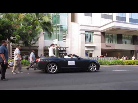 Pan-Pacific Parade 2016 David Ige Governor of Hawaii - Waikiki Honolulu Oahu Hawaii