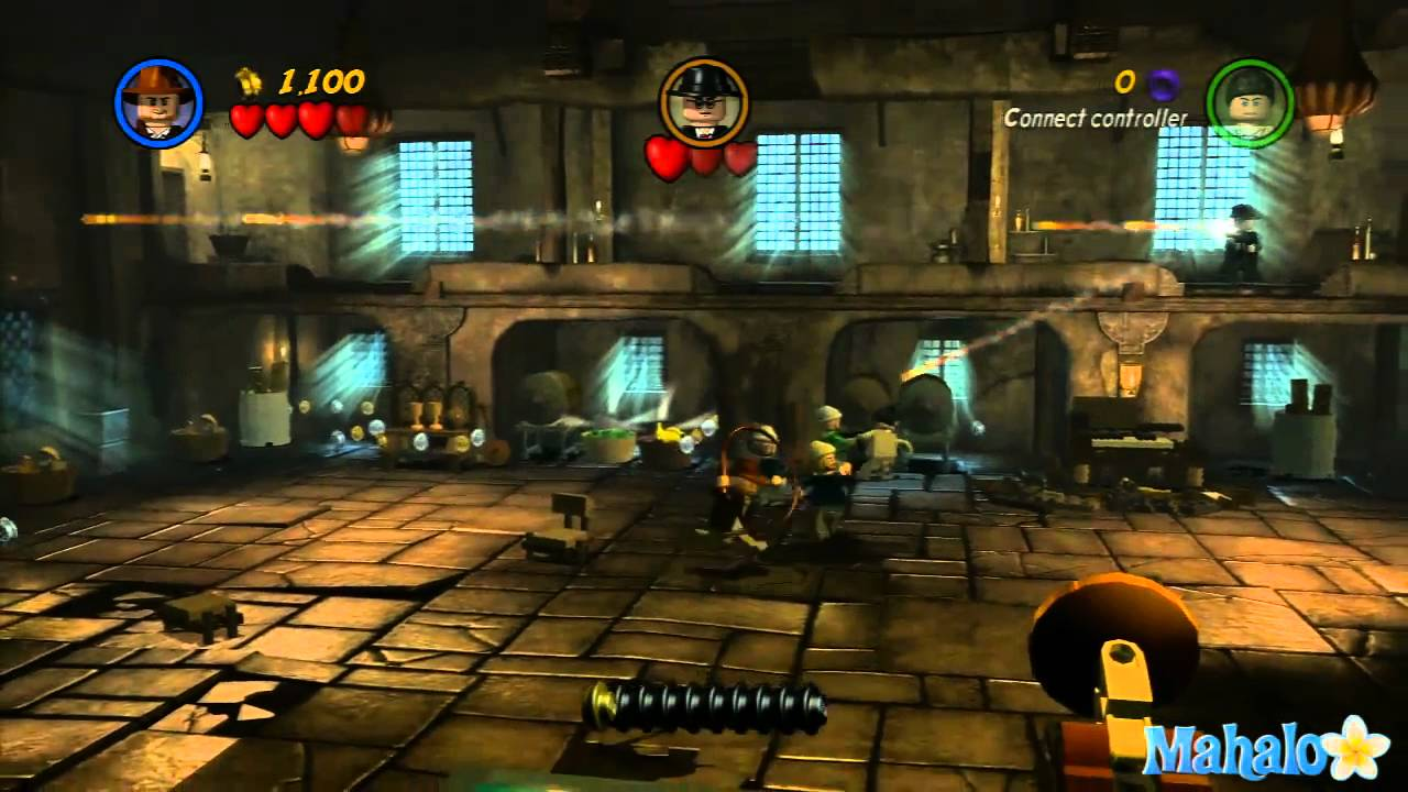Lego Indiana Jones 2 Raiders Of The Lost Ark Walkthrough 1 Of 5