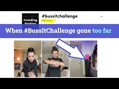 Buss It Challenge Gone Too Far on TikTok! It's unbelievable what that girl did!