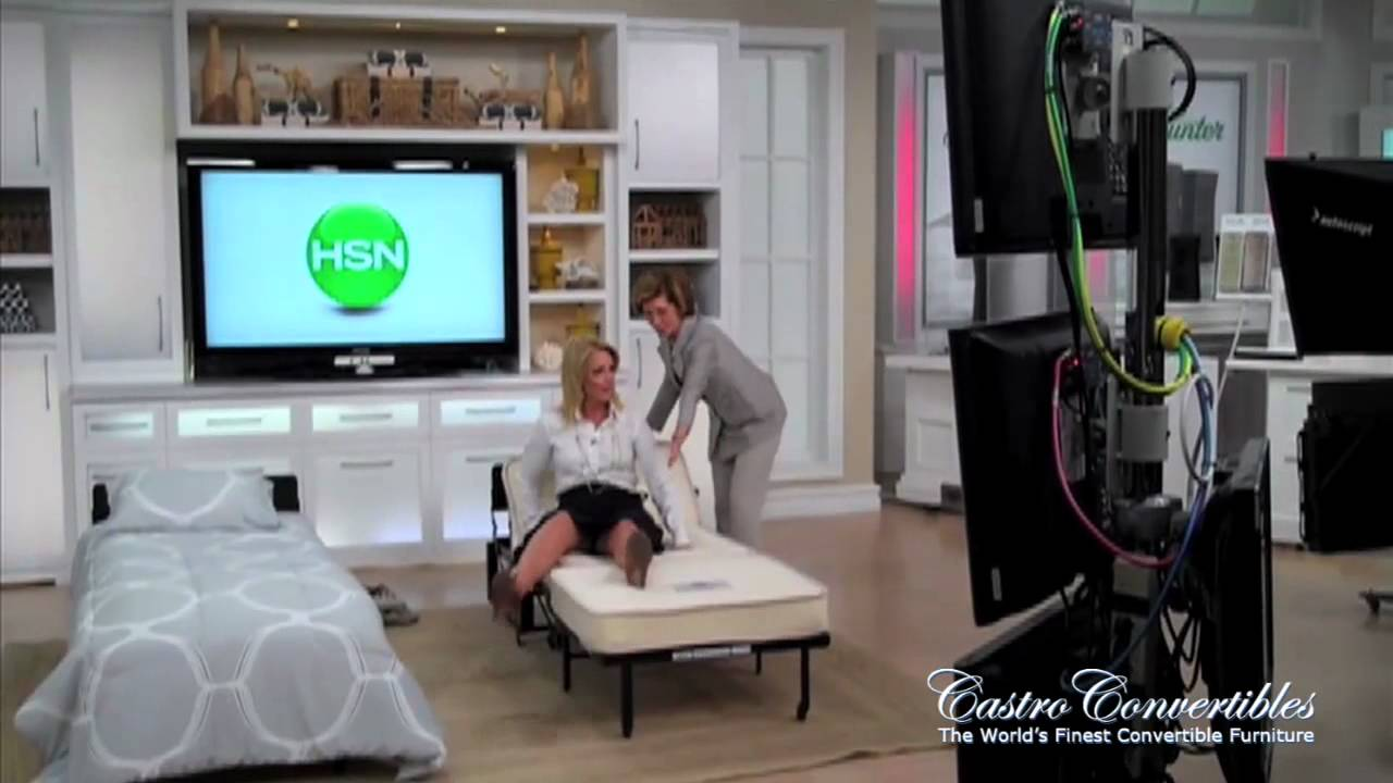 Exceptional Bernadette Castro Demonstrating The Castro Convertible Ottoman   Behind The  Scenes At HSN   YouTube