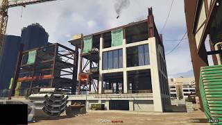 GTA 5 Online - Эпическое падение вертолёта