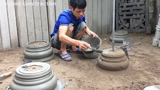 How To Build Home Foot Detail With Cement And Sand - Ingenious Craft Techniques