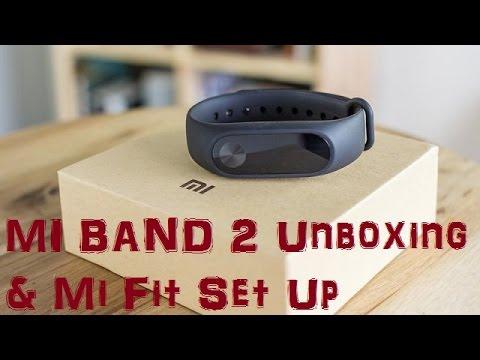 Mi band 2 Unboxing & Review | Mi Fit Setup