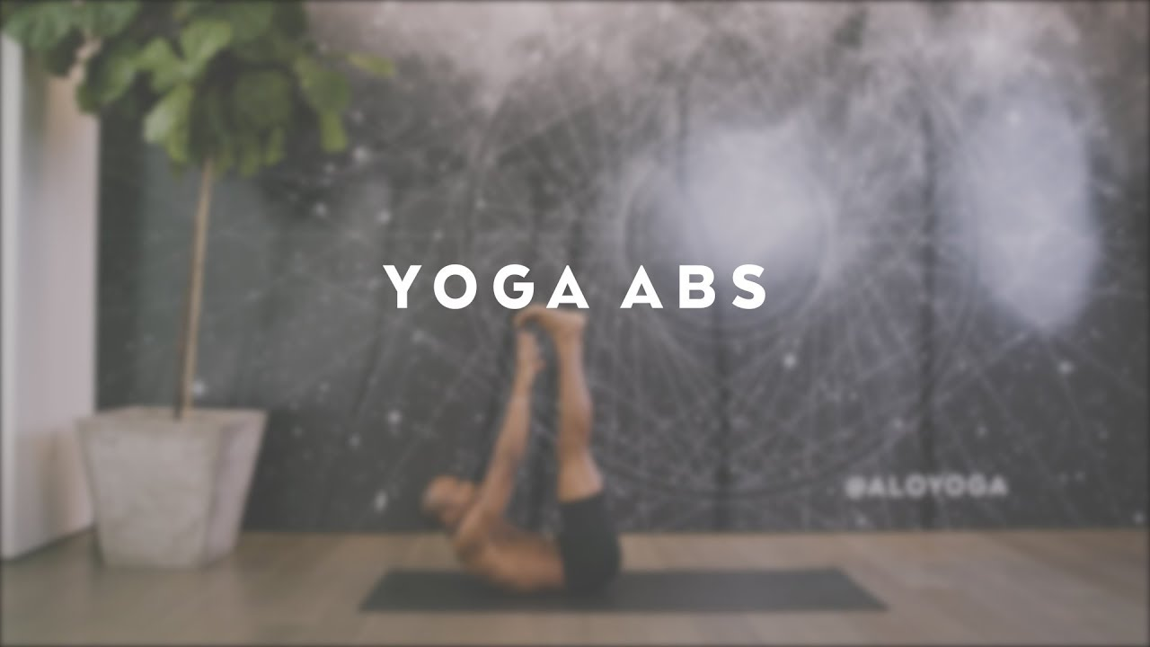 20-Minute Yoga Abs Workout with Andrew Sealy