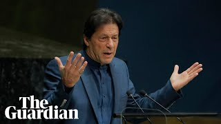 Imran Khan warns of potential nuclear war in Kashmir, urges UN to intervene
