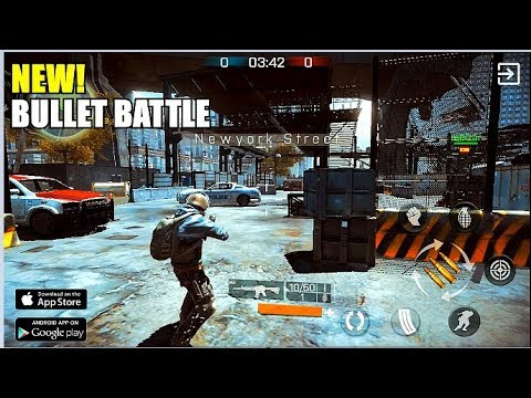 NEW! Bullet Battle Multiplayer TPS Gameplay (Android) HD