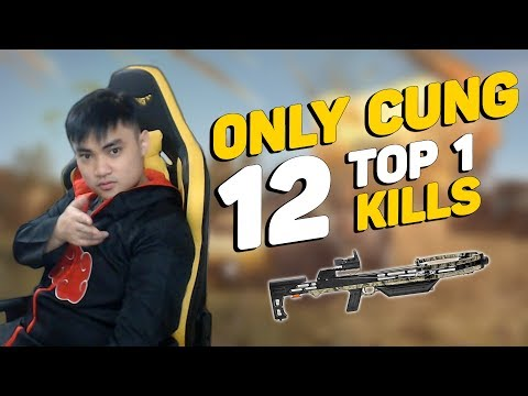 RIP113 ONLY CROSSBOW VỀ TOP 1 12 KILLS!!