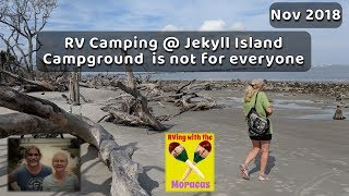 RV Camping @ Jekyll Island Campground is not for everyone