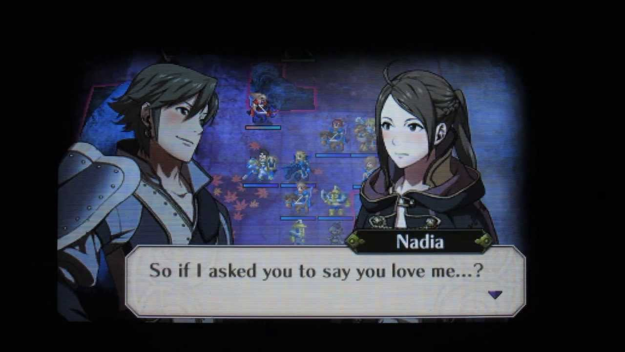 DLC Hot Spring of Bonds - Inigo and Female Avatar (Married) Dialogues -  Fire Emblem: Awakening